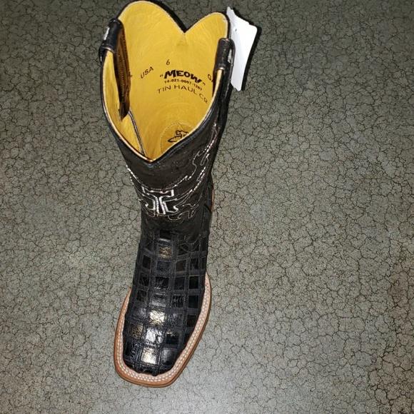 7f61d7b265c Tin Haul Meow Boots Boutique